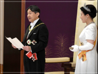 天皇即位の儀,ドレス,画像