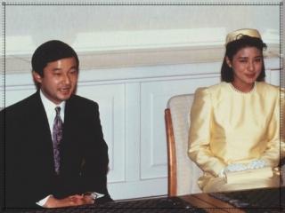 天皇陛下,雅子さま,婚約会見,画像