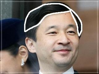 天皇陛下,かつら,画像
