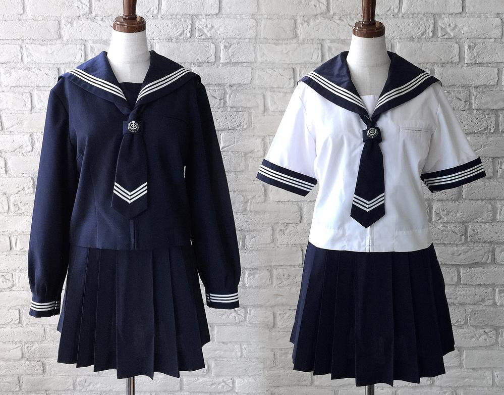 松伏町立松伏第二中学校の制服画像