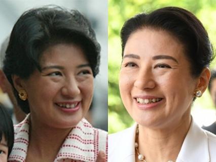 雅子さまの表情・笑顔の変化