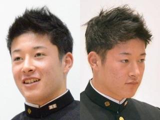 吉田輝星の髪型画像