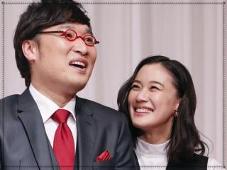 山里亮太と蒼井優の結婚会見画像