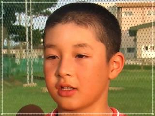 吉田輝星の小学校時代の髪型画像