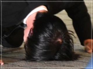田口淳之介のハゲ疑惑を土下座画像で検証