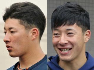 吉田輝星の今市隆二風ツーブロック髪型画像
