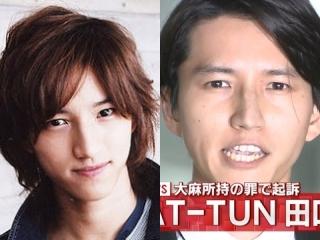 田口淳之介のハゲ疑惑を過去と現在で画像比較
