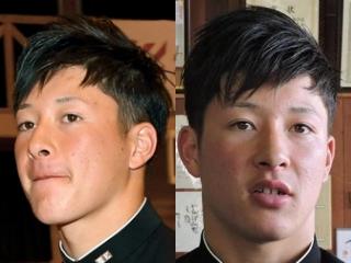 吉田輝星の卒業式画像,髪型