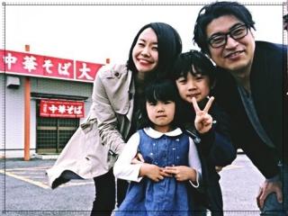 梅村みずほの夫と子供の顔画像