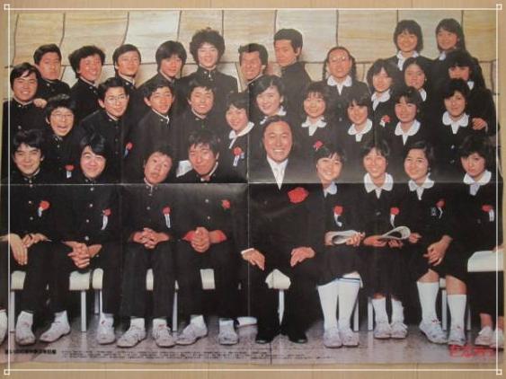 金八先生第1シリーズの集合写真画像