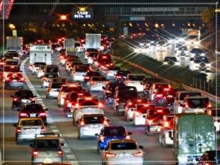 渋滞の画像