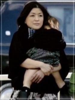 藤島ジュリー景子と子供(娘)の画像
