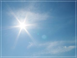 暑さの画像
