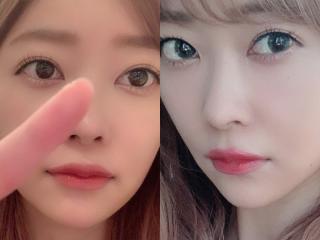 指原莉乃の唇メイク画像