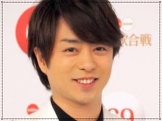 櫻井翔の2018年36歳紅白歌合戦画像