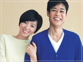 名倉潤と渡辺満里奈の画像