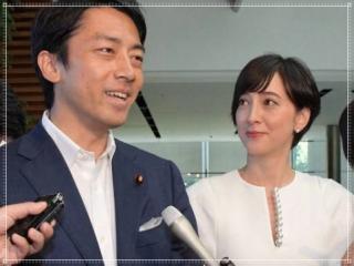 小泉進次郎と滝川クリステルの結婚画像