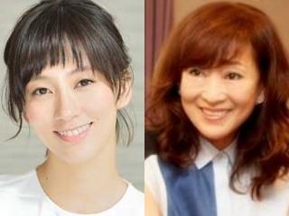 水川あさみと母親の比較画像