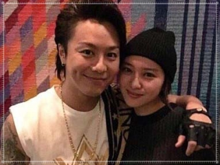 TAKAHIROと武井咲のツーショット画像