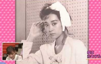 水川あさみの母親の若い頃モデル画像