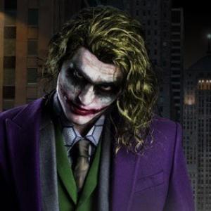 ジョーカーのハロウィンコスプレ画像