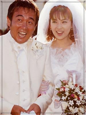 飯島直子と前田亘輝の結婚式画像