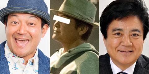 飯島直子の現在の夫と山口智充と堀尾正明の比較画像