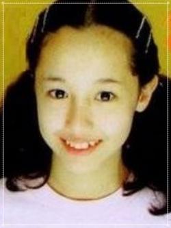 沢尻エリカのデビュー当時12歳画像