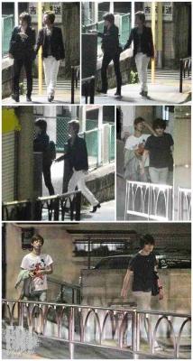 氷川きよしと松村雄基の画像,2010年FRIDAY