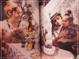 MEGUMIと降谷建志と息子・降谷凪の画像