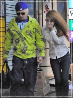 あびる優とISSAの交際画像,2008年復活デート