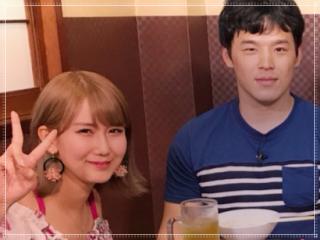 三谷竜生と岡井千聖のツーショット画像