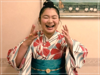富田望生の浴衣画像,和服