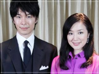 鈴木京香と長谷川博己のツーショット画像