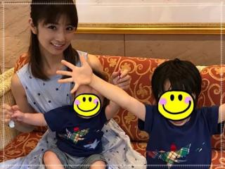 小倉優子の子供の画像,息子,長男,次男