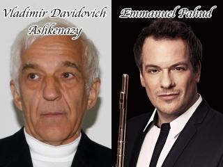 ヴラディミール・アシュケナージ氏、エマニュエル・パユ氏