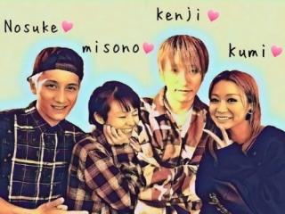 倖田來未と旦那のKENJI03,misonoと夫のNosuke画像