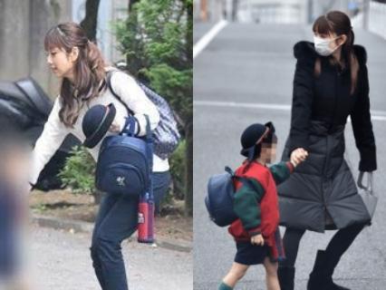 小倉優子の子供,長男の幼稚園はドミニコ
