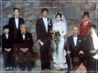 佐藤浩市の結婚式画像