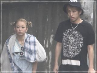 倖田來未とKENJI03,顔画像
