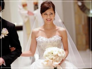 安田美沙子の結婚式画像