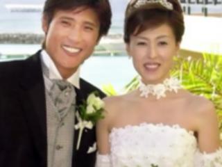 新庄剛志と元嫁の大河内志保の結婚式画像