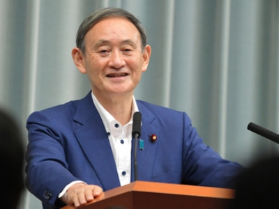 菅義偉首相の顔画像